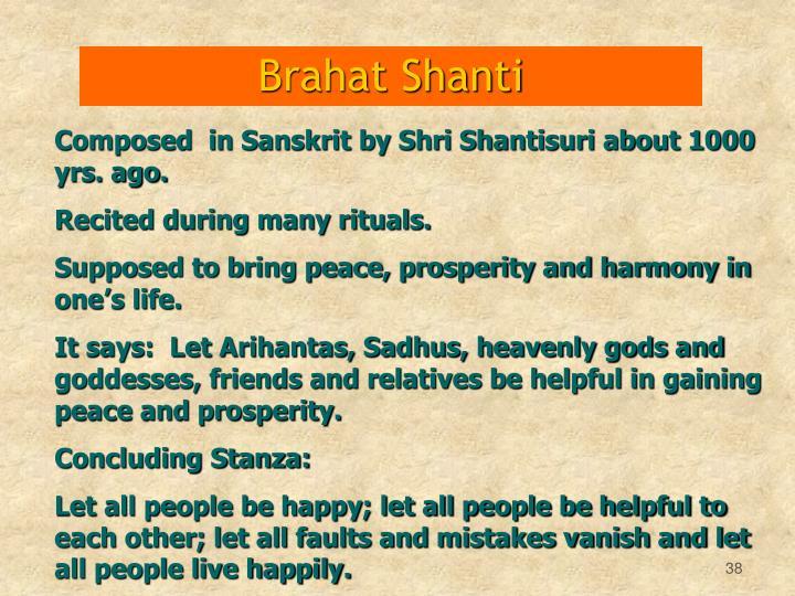 Brahat Shanti