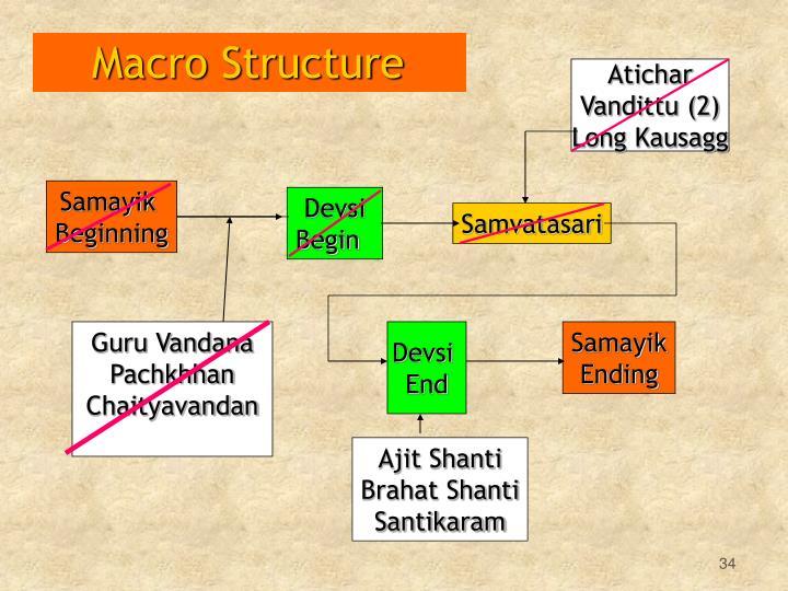 Macro Structure