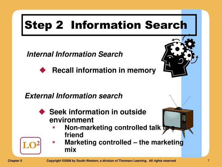 Step 2  Information Search