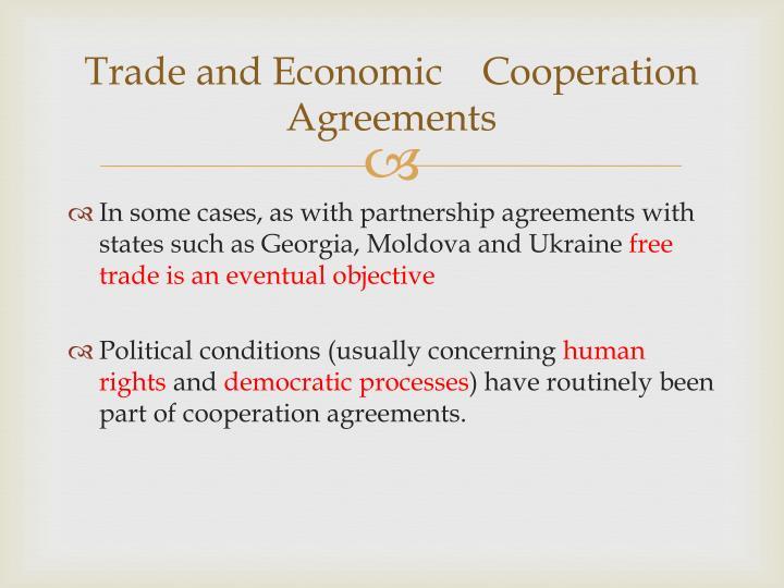 Trade and Economic