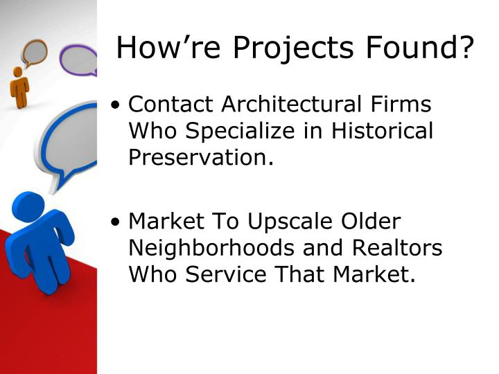 How're Projects Found?