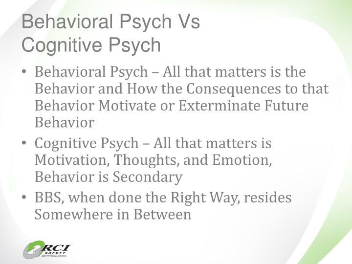 Behavioral Psych