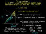 policy option 3 in ideal coasian transactions people trade the externality itself until md wtp mc