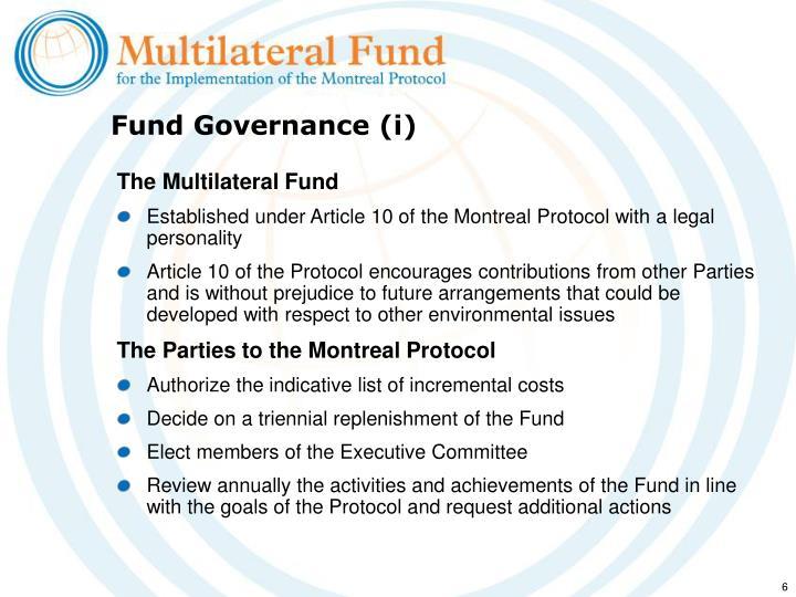 Fund Governance (i)