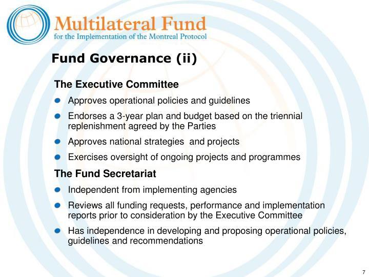 Fund Governance (ii)