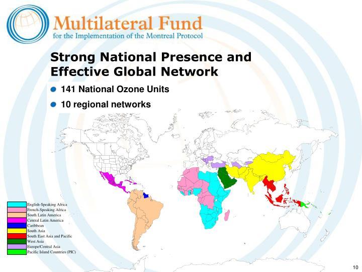 141 National Ozone Units