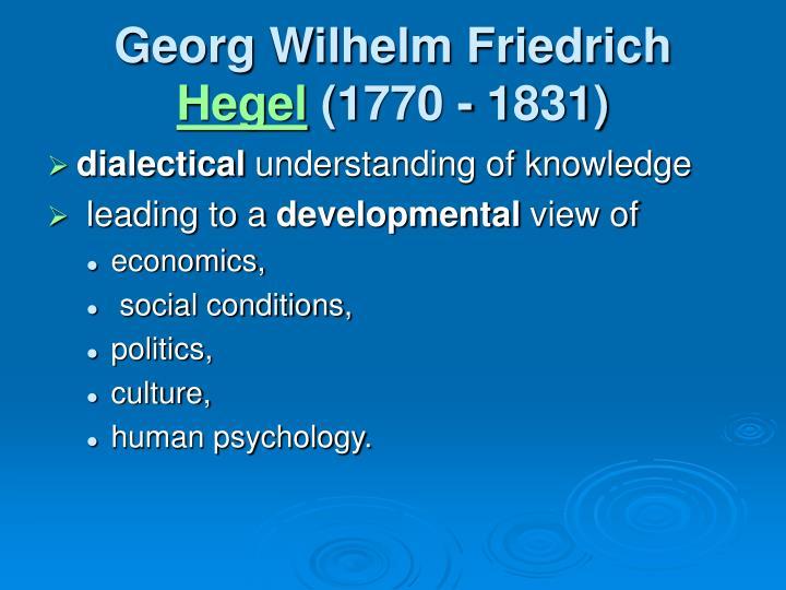 Georg Wilhelm Friedrich