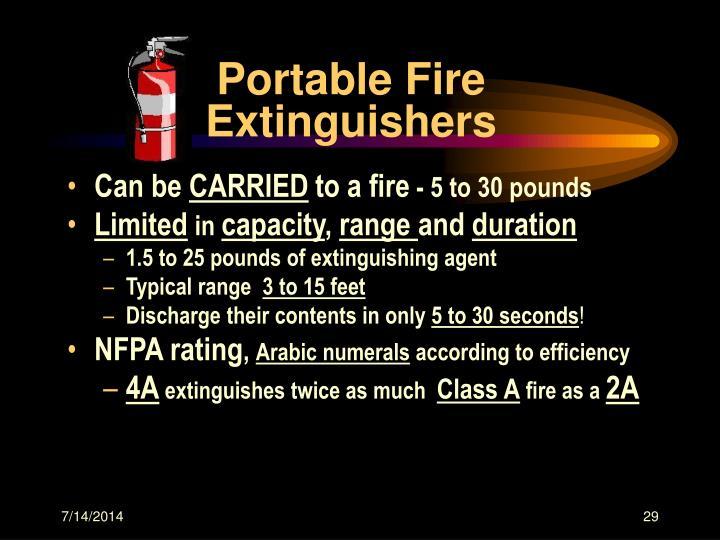 Portable Fire