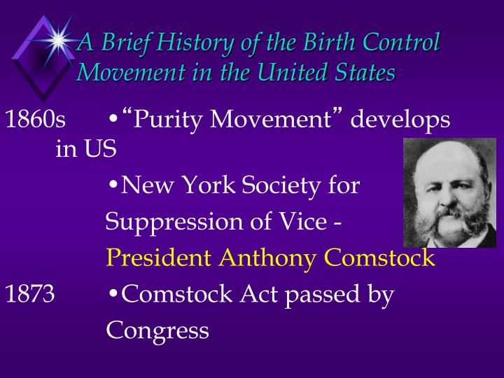 A brief history of the birth control movement in the united states1