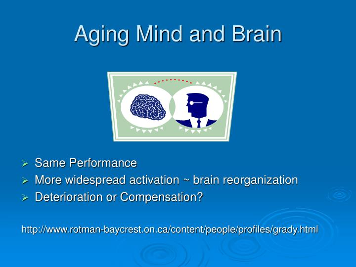 Aging Mind and Brain