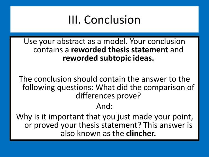 conclusion introduction thesis Writing a thesis a thesis statement is a one-sentence summary of a paper's content it is similar, actually, to a paper's conclusion but lacks the conclusion's concern for broad implications and significance.
