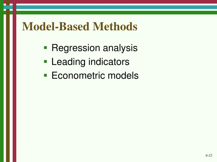 Model-Based Methods
