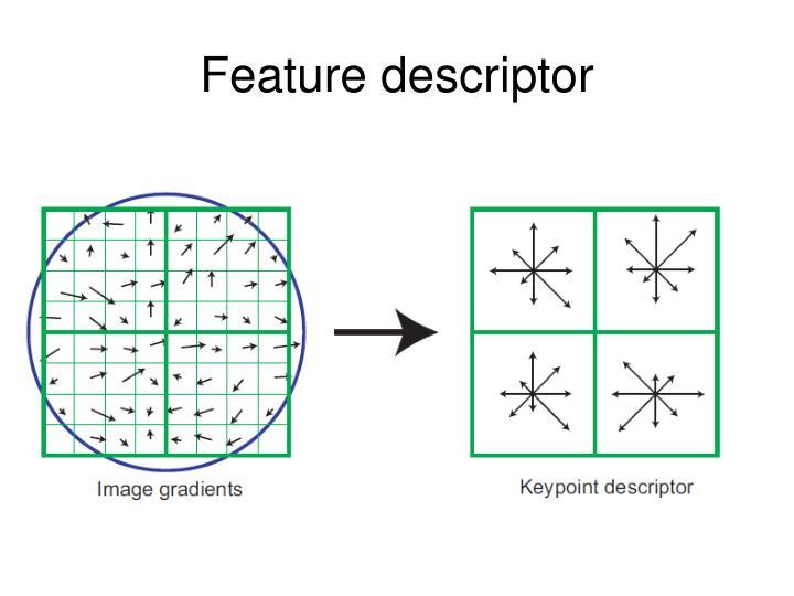 Feature descriptor