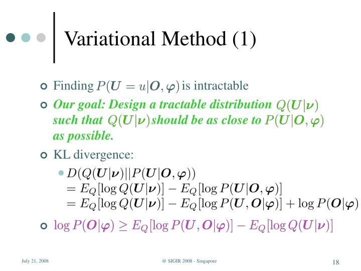 Variational Method (1)