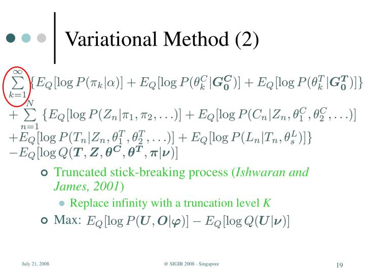 Variational Method (2)