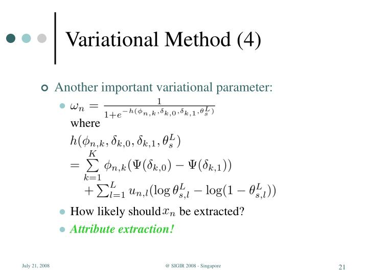 Variational Method (4)