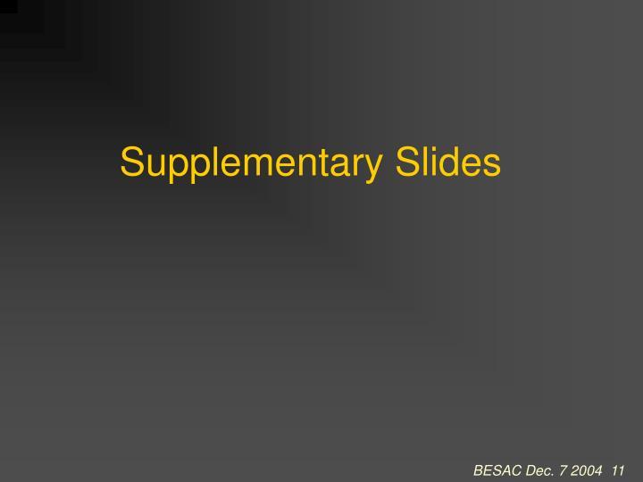 Supplementary Slides