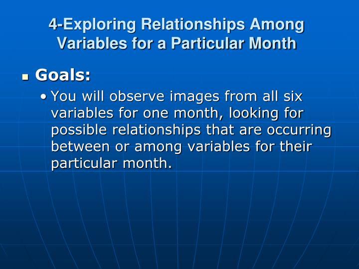 4-Exploring Relationships Among