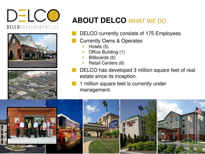 ABOUT DELCO