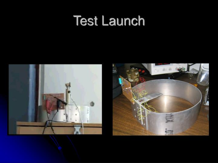 Test Launch