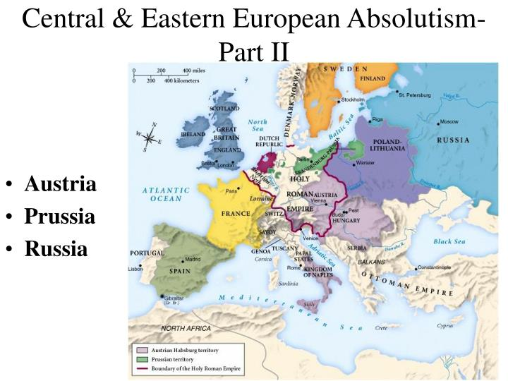 Central eastern european absolutism part ii