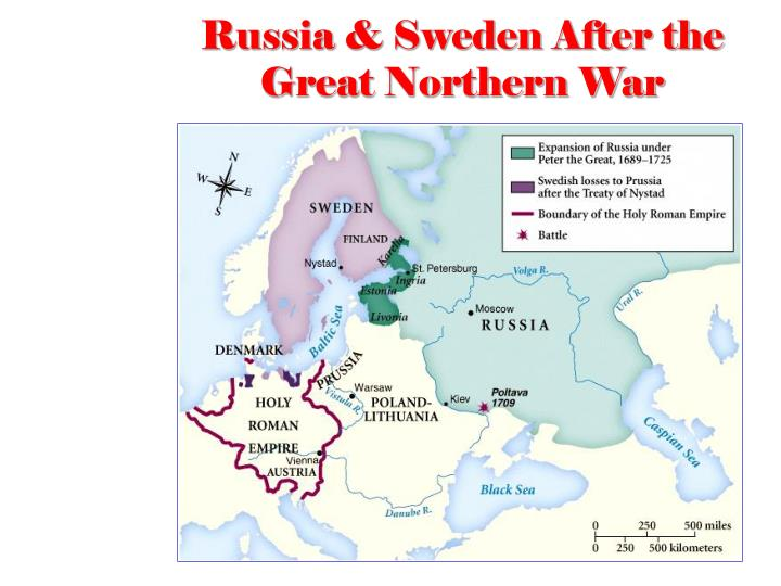 Russia & Sweden After the Great Northern War