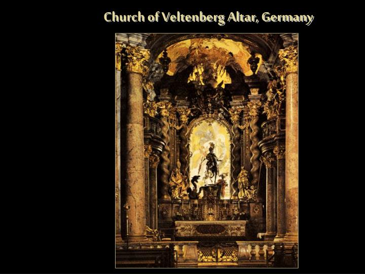 Church of Veltenberg Altar, Germany