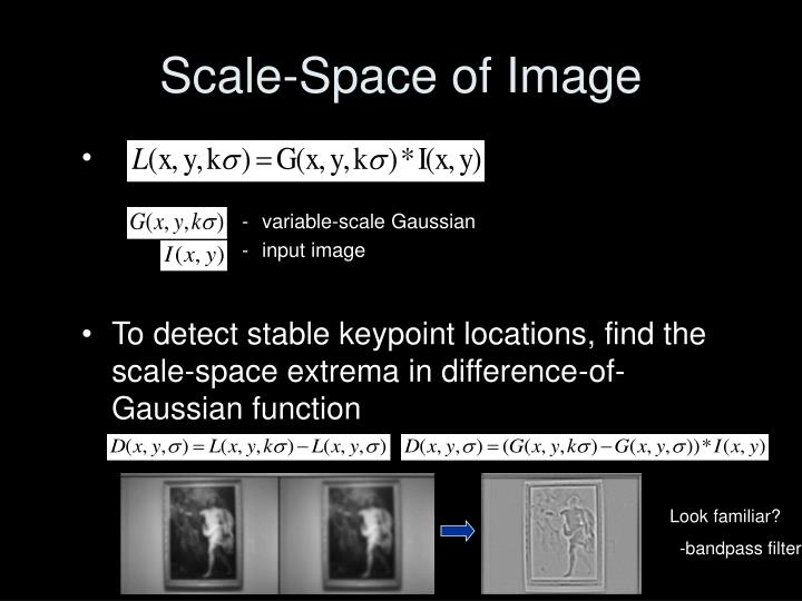 Scale-Space of Image