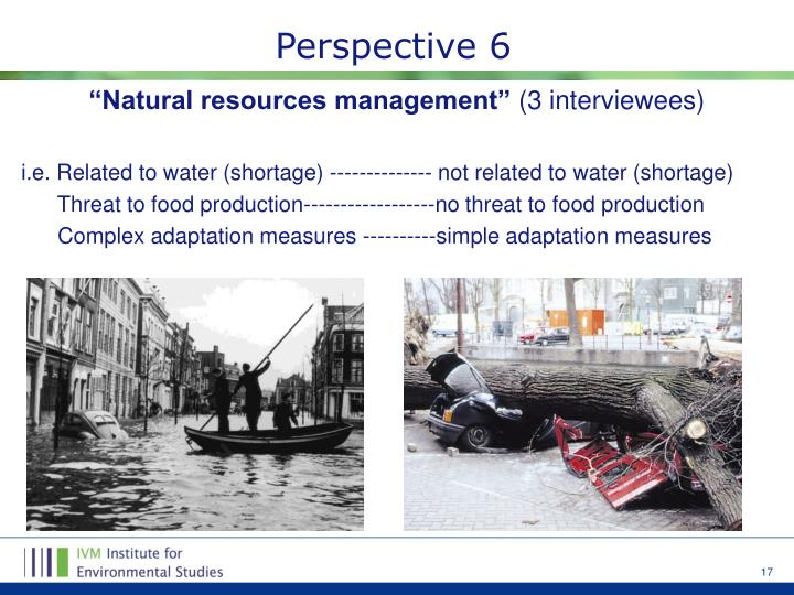 """Natural resources management"""