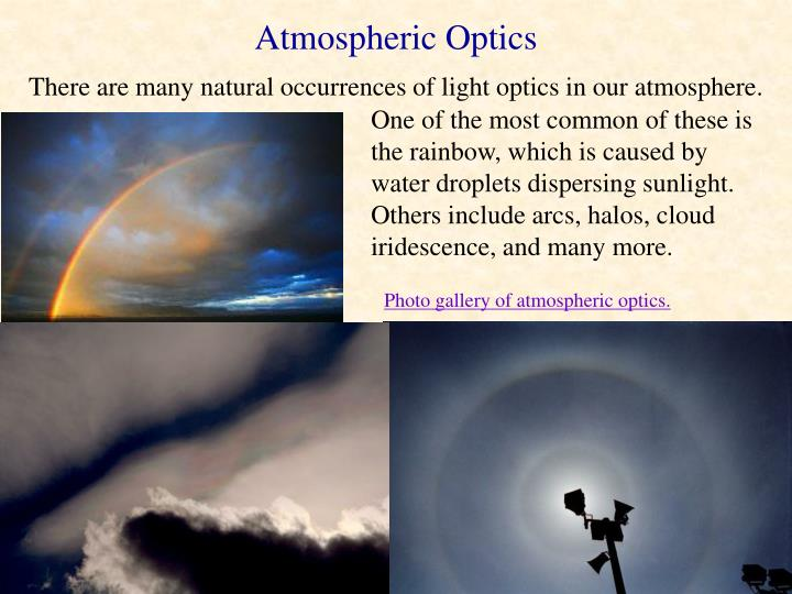 Atmospheric Optics