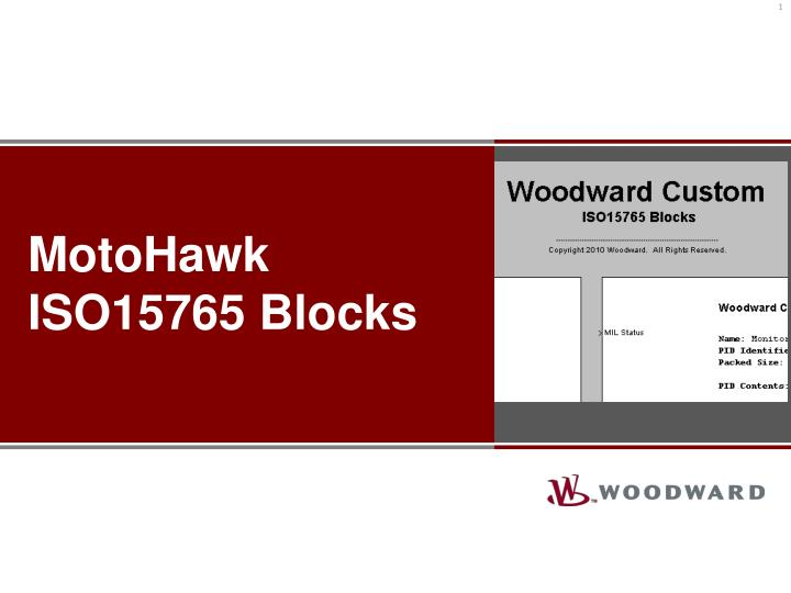 Motohawk iso15765 blocks