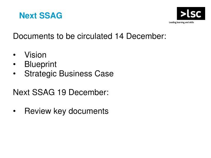 Next SSAG