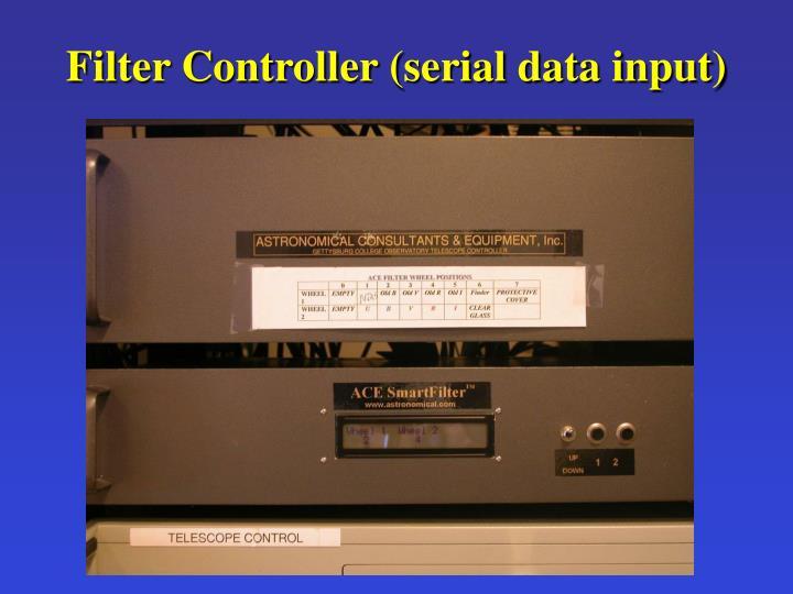 Filter Controller (serial data input)