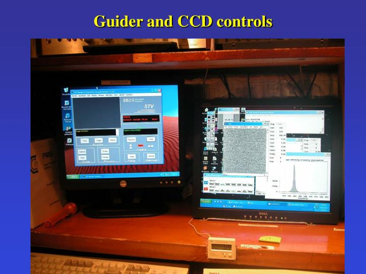 Guider and CCD controls