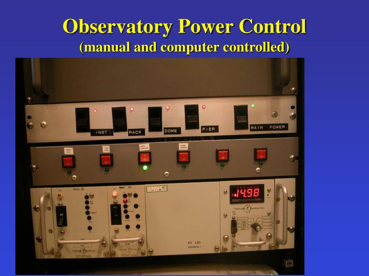 Observatory Power Control