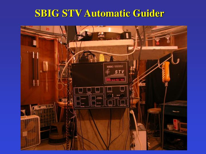 SBIG STV Automatic Guider