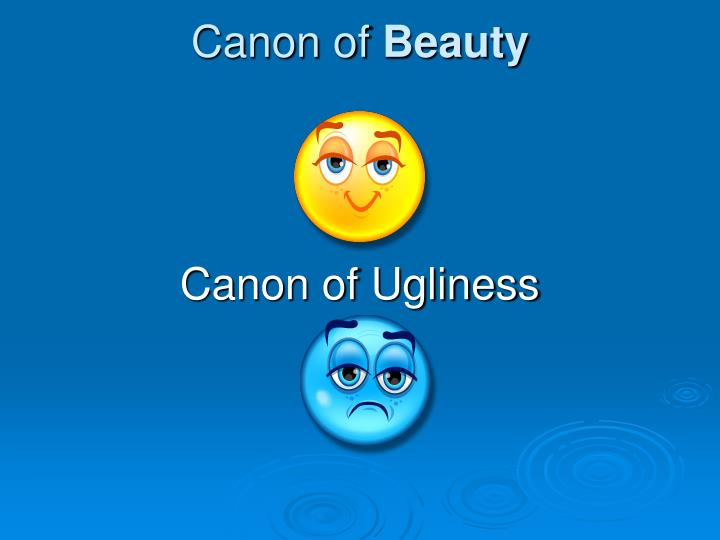 Canon of beauty