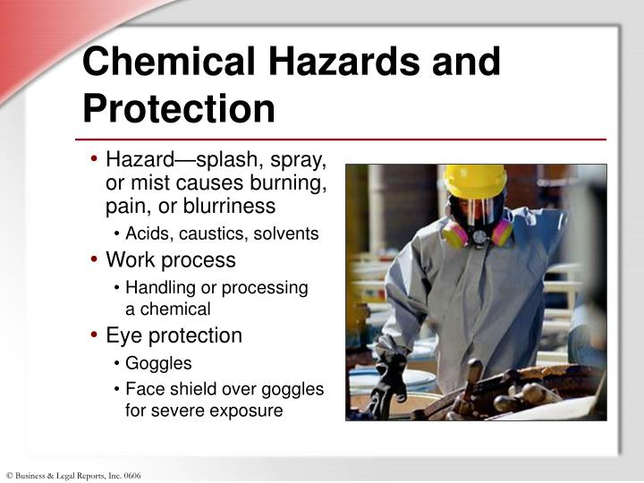 Chemical Hazards and Protection