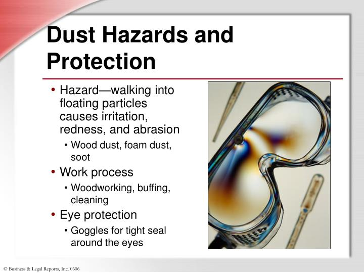 Dust Hazards and Protection