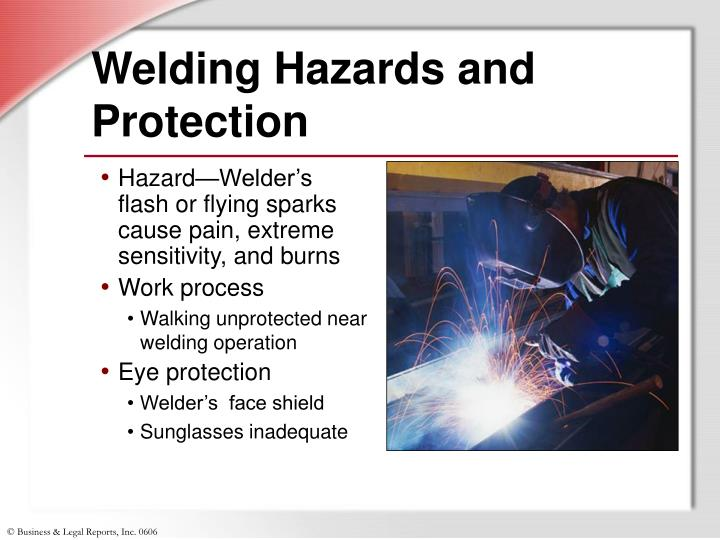 Welding Hazards and Protection