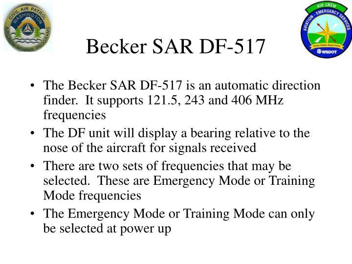 Becker SAR DF-517