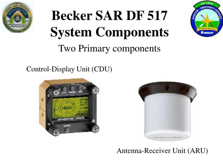 Becker SAR DF 517