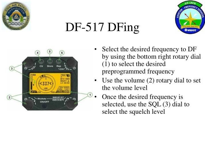 DF-517 DFing