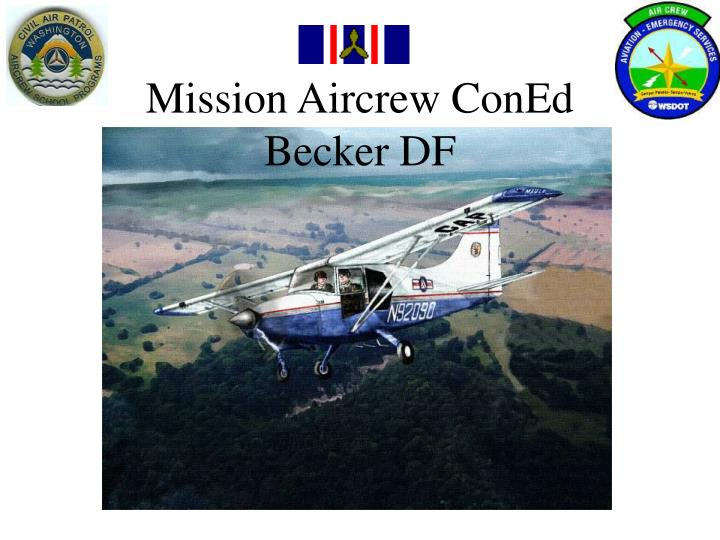 Mission Aircrew ConEd