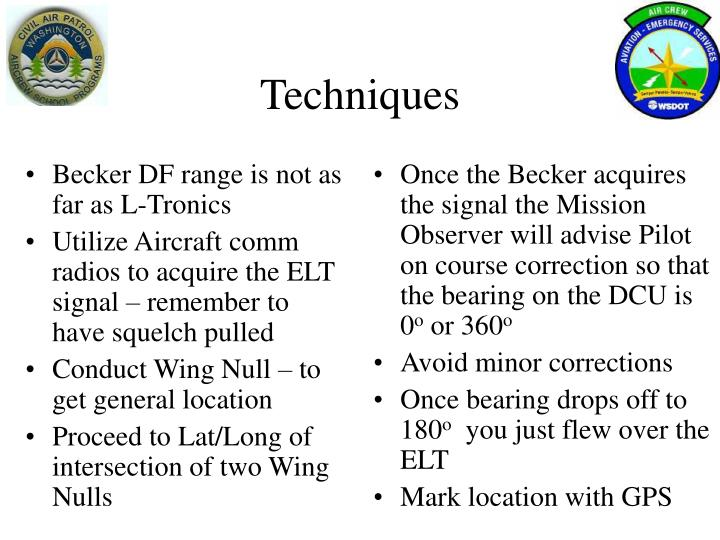 Becker DF range is not as far as L-Tronics