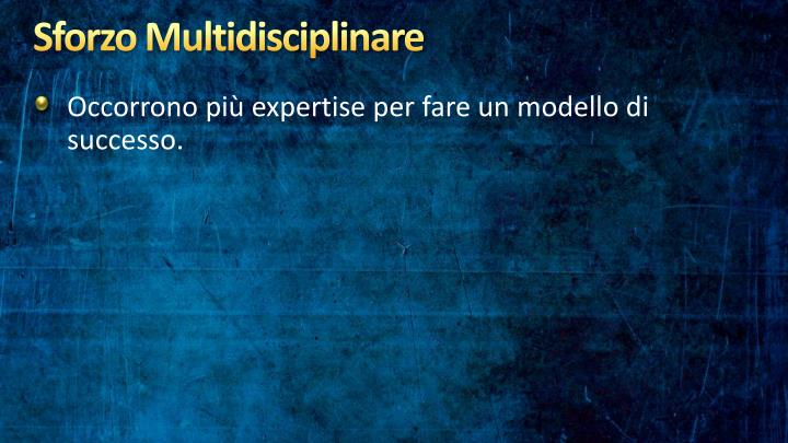 Sforzo Multidisciplinare