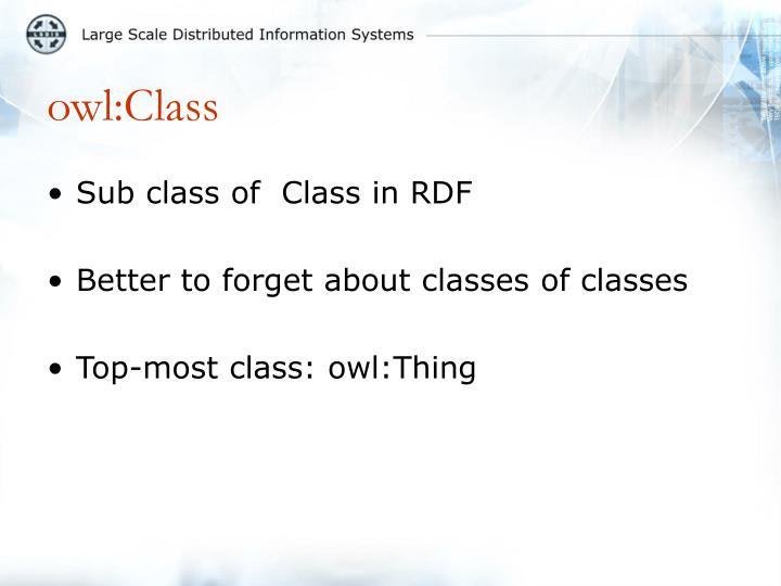 owl:Class
