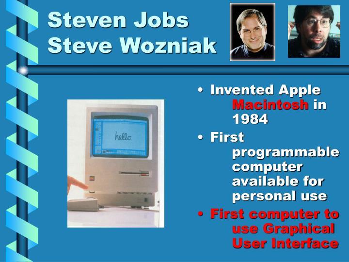 Steven Jobs