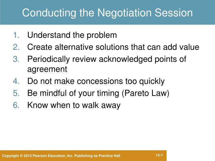 "negotiation session How to prepare for any negotiation session if you think successful salespeople "" wing it"" when it comes to negotiation, think again if you think successful."