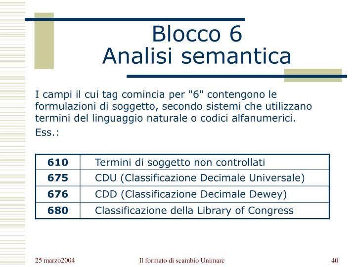 Blocco 6